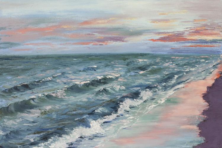 Abstract sea reflecions 18*12 - Image 0