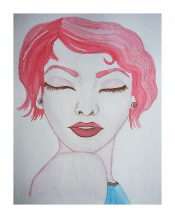 'The Red Head Girl' - Image 0