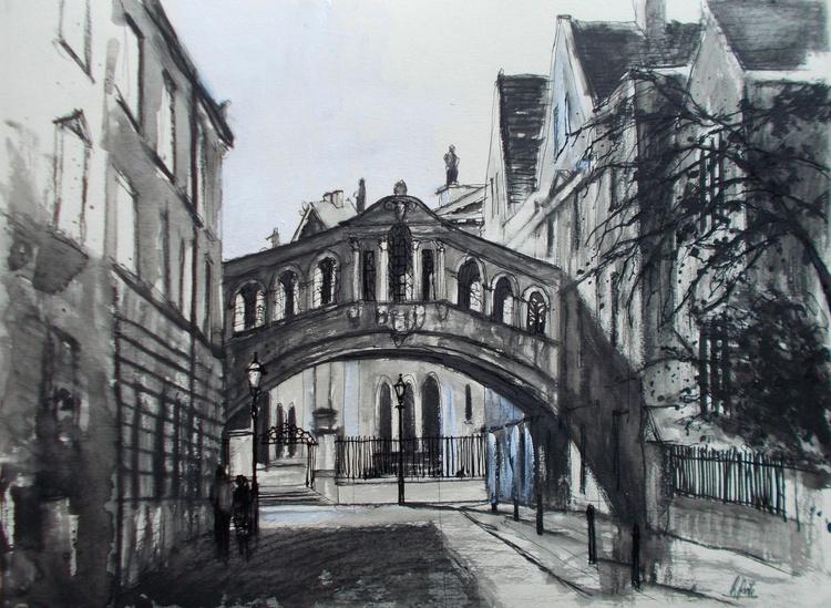 Bridge of Sighs (Hertford Bridge) Oxford. - Image 0