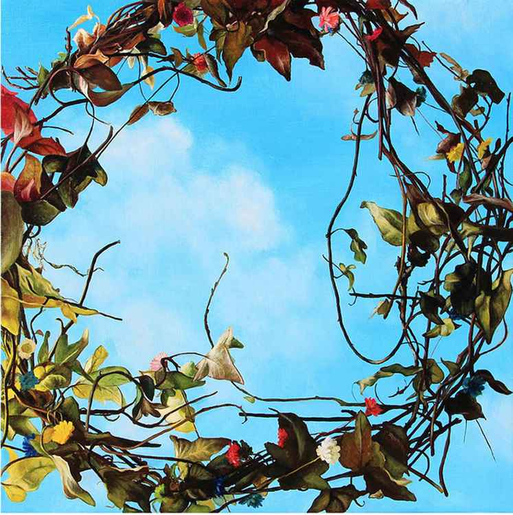 Ivy wreath -