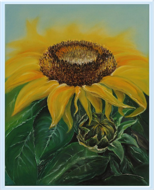 A Large Sunflower - Image 0