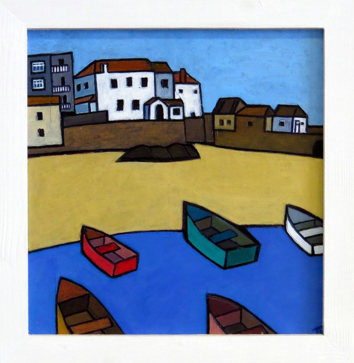 St Ives harbour boats - Image 0