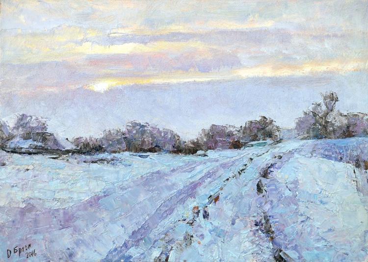 Soon It Is Evening, winter - Image 0
