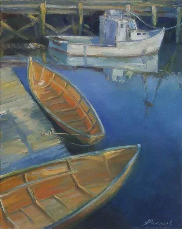 Boats 16x20'' -