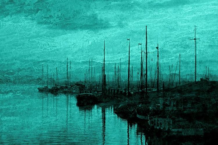 Silence at Dawn - Canvas 75 x 50 cm - Image 0