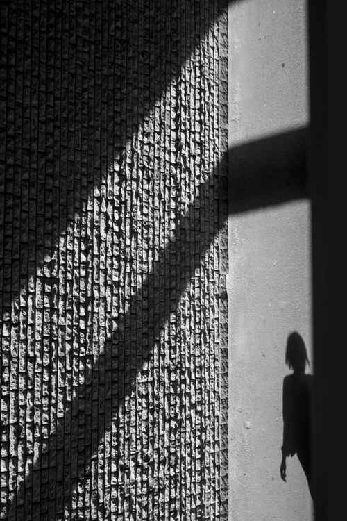 The wall and shadows