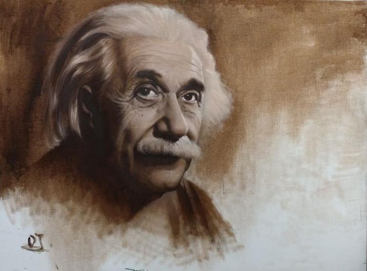 ALBERT EINSTEIN............................ - Image 0