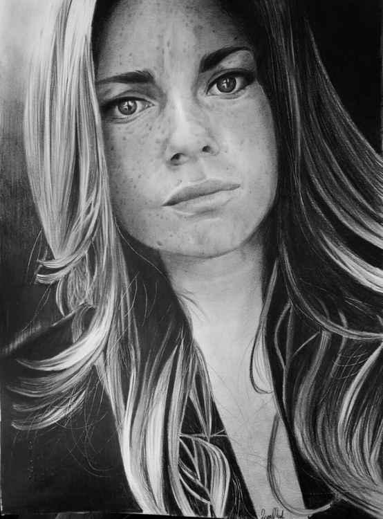 """Portrait """"Erika"""" -"""