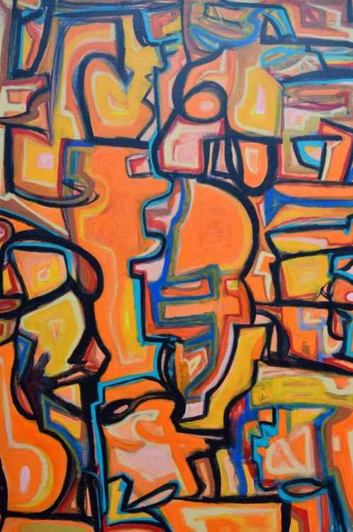 A Free Mind - Orange -