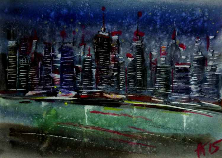 night city II -