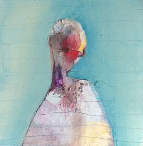 Small Figure Mass 2 by Anna Bergin