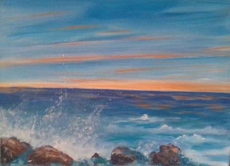 Rocks in the Mediteranean Sea -