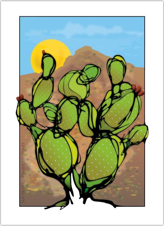 Cacti - Tempe Butte - Image 0