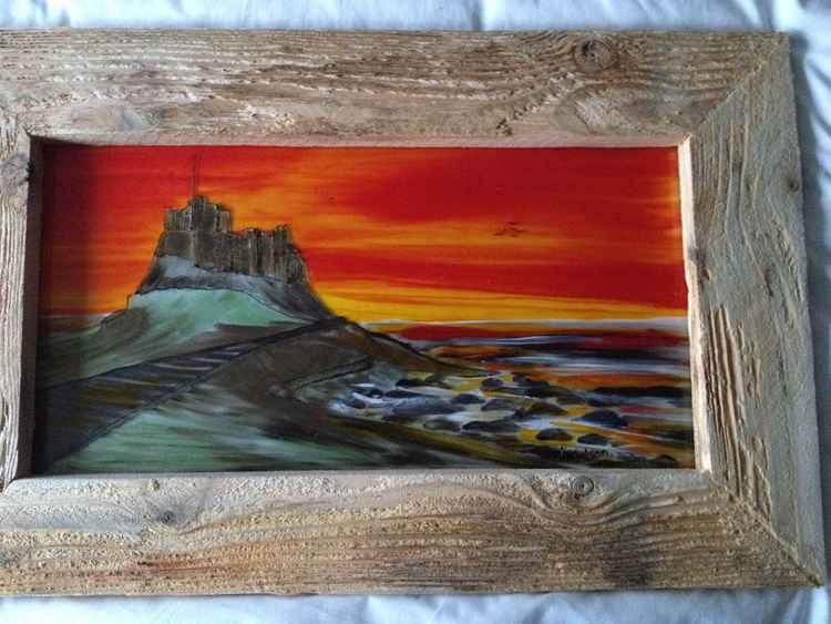 Lindisfarne at Sunrise
