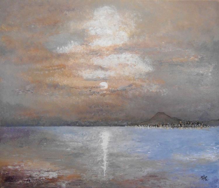 """Artwork 1520 """"Twilight Vesuvius"""" - Image 0"""