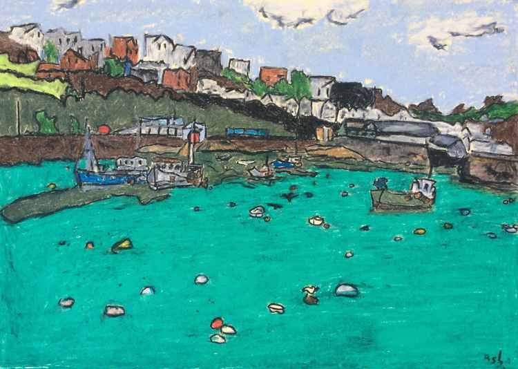 Mevagissey harbour #5 -