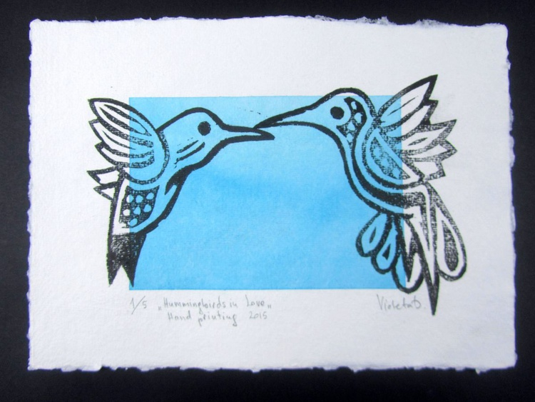 Hummingbirds in Love - Image 0