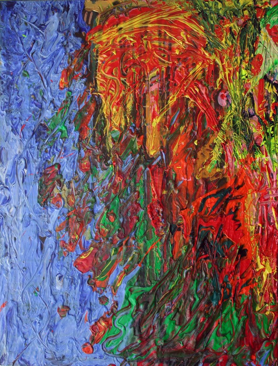 Water Wall Fire Horse - Image 0