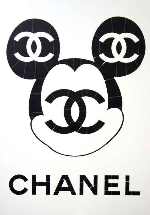 Mickey Chanel White (Ed. 2 of 6) -