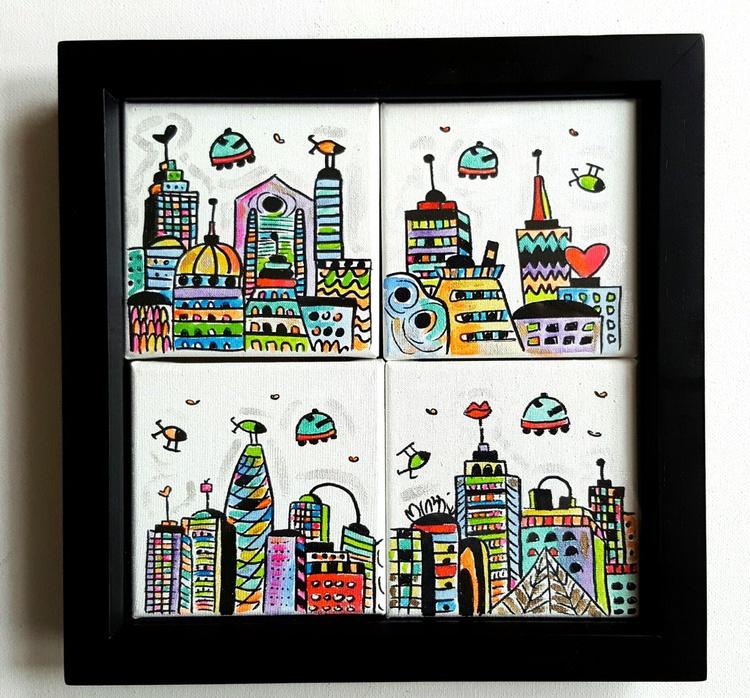 4 Fantastic Cities - Image 0