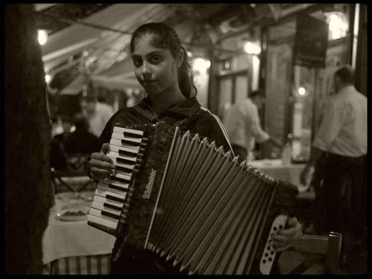 Gypsy Girl Greece -