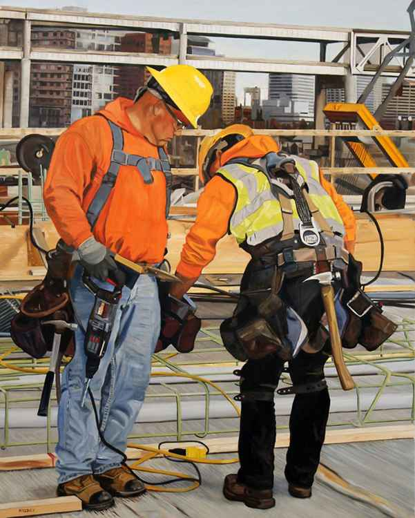 Tilikum Crossing Workers -