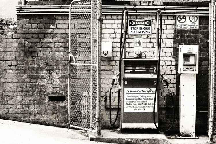 Vintage Petrol/Gas Pump
