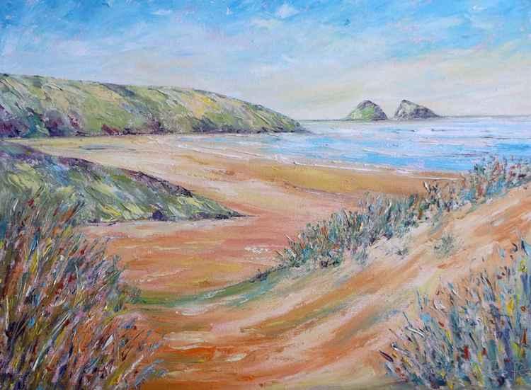 Holywell Bay Cornwall -