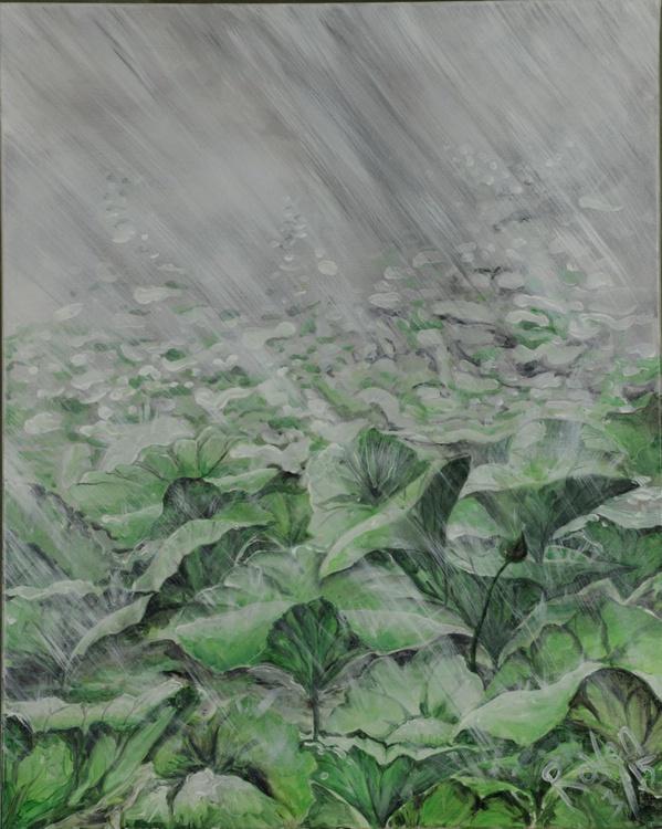 LOTUS IN THE RAIN - Image 0