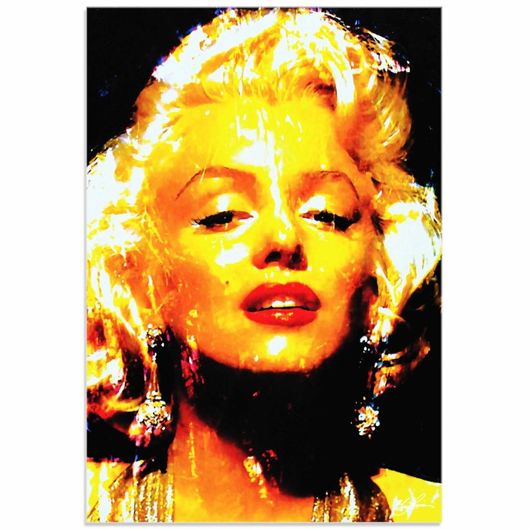 Mark Lewis 'Marilyn Monroe Restoration' Limited Edition Pop Art Print on Acrylic - Image 0