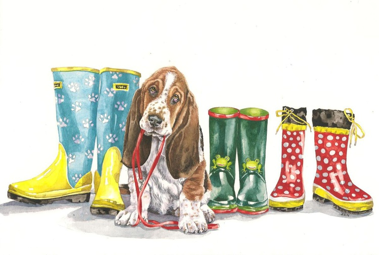 Puppy and Boots - Image 0