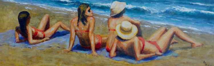 The beach dreamers. -