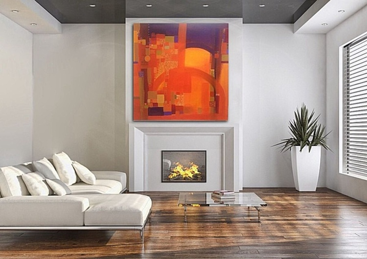 The Colour of Life (100x100cm) special offer - Image 0