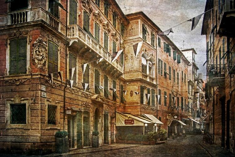 Finale Ligure (Italy) - Canvas 75 x 50 cm - Image 0