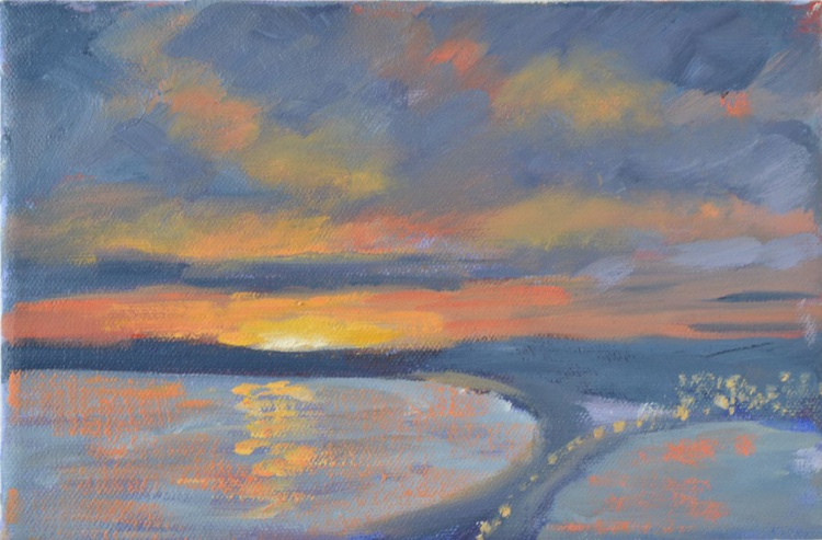 SUMMER SOLSTICE OVER CHESIL BEACH - Image 0