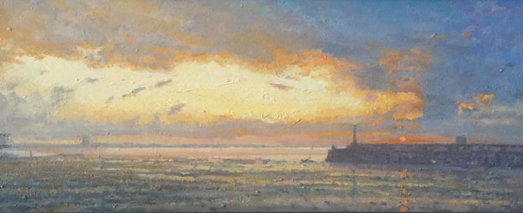 Margate Harbour Sunset - Image 0