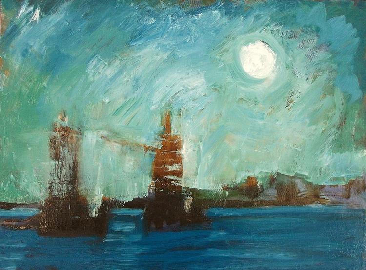 Abstract Idea. Tower Bridge, London. - Image 0