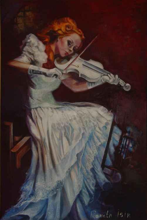 Violinist - 80 x 120cm