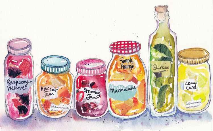 Five Jars -
