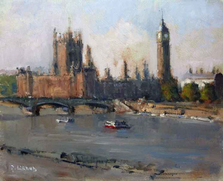 River Thames in London -