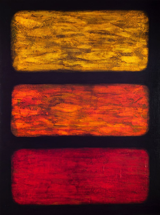 Embers Through the Window - SOLD - Image 0