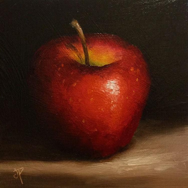 Alla prima Red Apple - Image 0