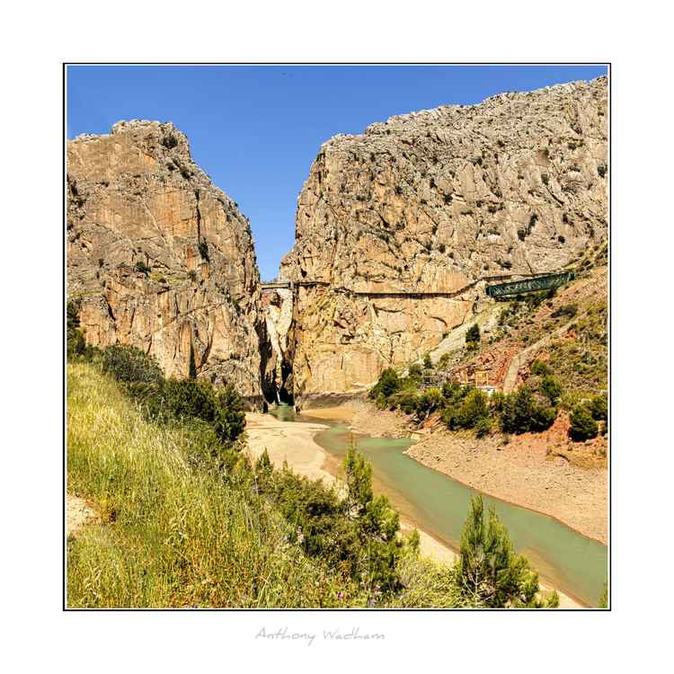 El Caminito del Rey. (The Kings Walk.) -