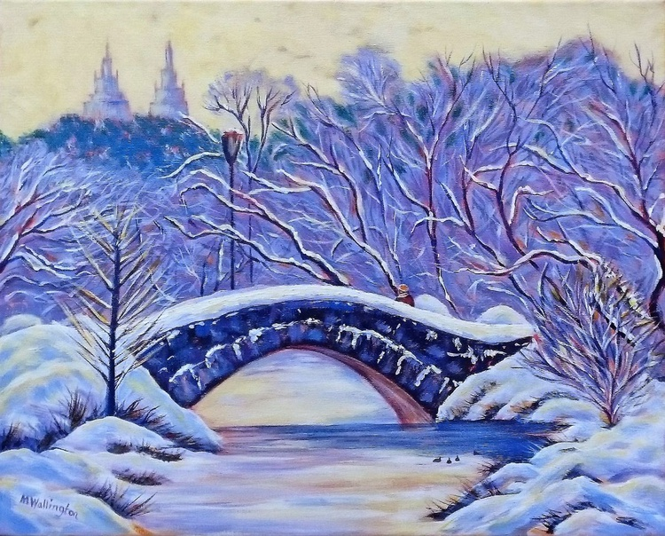 Central Park in the Snow - Image 0
