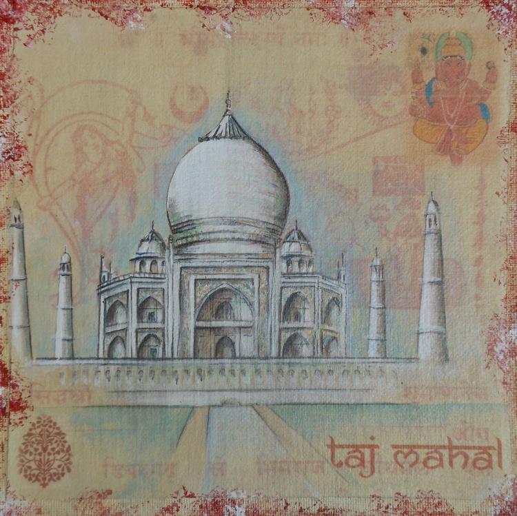 Misty Taj Mahal - Image 0