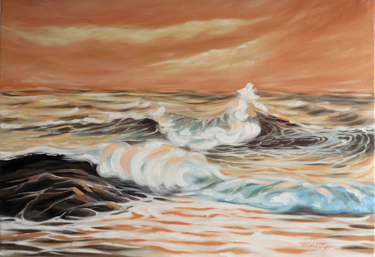 Sea breeze- 36.2x25.6 inch (92x65 cm) - Image 0