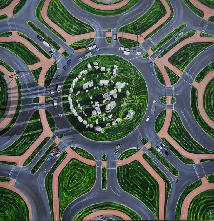 StonehengeTraffic Circle -