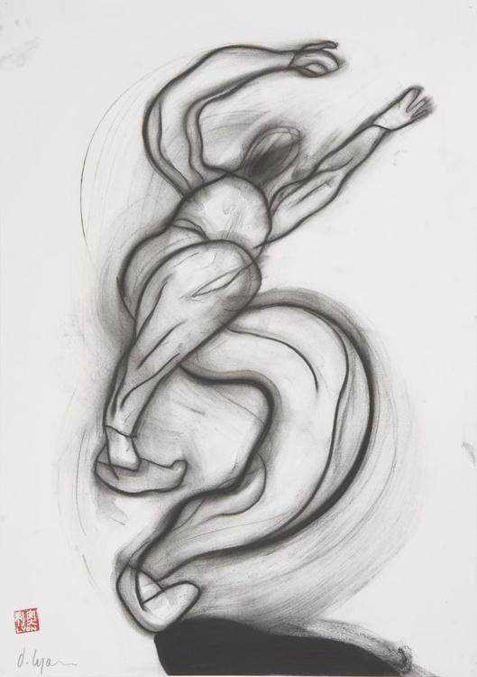 Stumbling Figure - Image 0