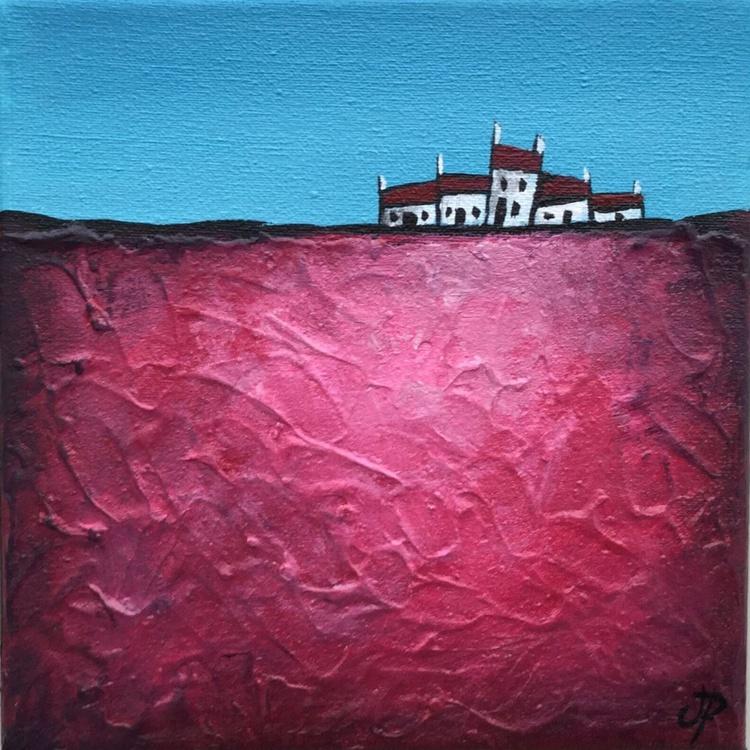 Little terrace on pink 2 - Image 0