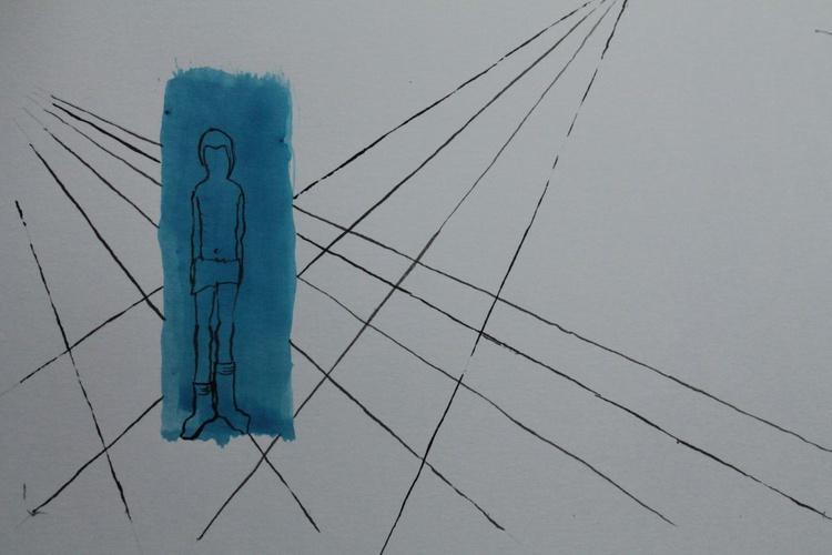 blue boy & Obscene Perspectives - Image 0